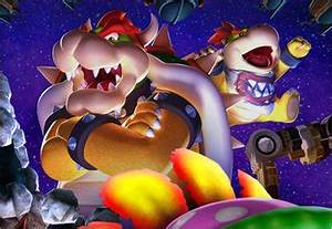 Bowser and Bowser Jr. vs. Captain America and Iron Man ...