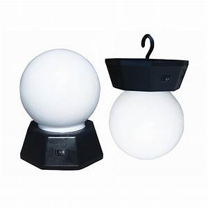 2 pk battery powered led globe lights 425708 rv With outdoor battery operated lights canadian tire