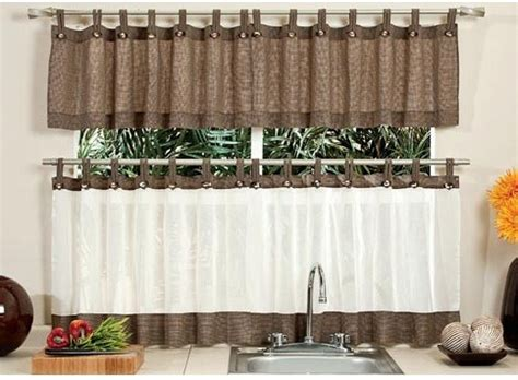 cortinas de cocina avellana  botones vianney  en mercado libre