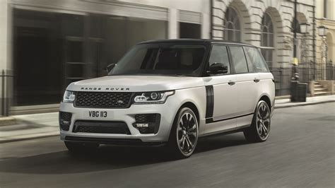 2017 land rover range rover svo design top speed