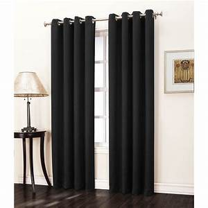 Sun Zero Hanson Crushed Grommet Room Darkening Curtain
