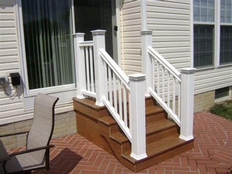 trex deck stair railing composite deck stair railing