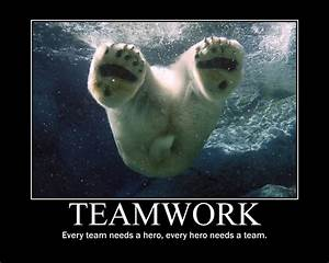 TEAMWORK QUOTES FUNNY image quotes at hippoquotes.com