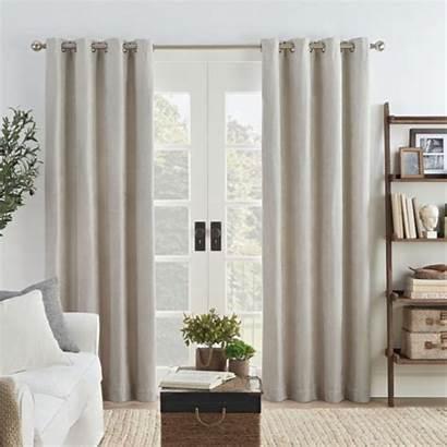 Draft Blackout Curtains Grommet Eclipse Curtain Stopper