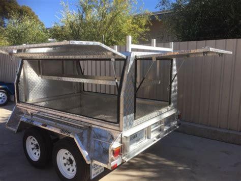 kessner trailers  tradesman aluminium canopy trailer
