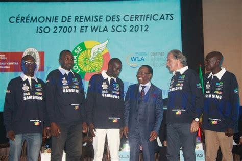bureau veritas senegal certification iso 27 001 la lonase première société dans
