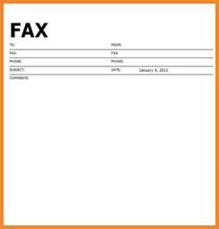 exle fax cover sheet bio resume sles