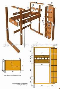 Loft Bed Plans • WoodArchivist