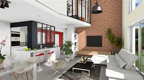 Images for plan maison moderne avec mezzanine desktophddesignwall3d.ga