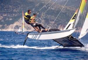 summer sports hobie cat cypriot and proud