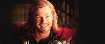 Thor Wink Smile Gifs Captain America Mcu