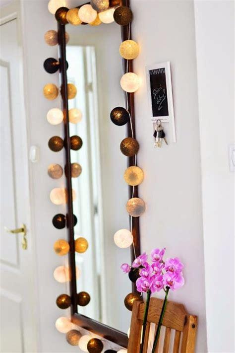 ideas  decorar  guirnaldas de luces decoracion de