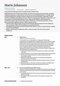 medical cv examples and template With curriculum vitae for nurses