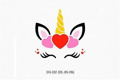 Unicorn Svg Valentines Valentine Cricut Svgs Cut