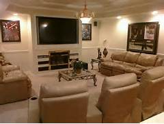 Basement Ideas Man Cave Home Design Ideas Basement Ideas On Pinterest Basement Bars Basements And Basement Basement Ideas Home Pinterest Living Room Design Ideas Exposed Ceilings Basement Ideas And