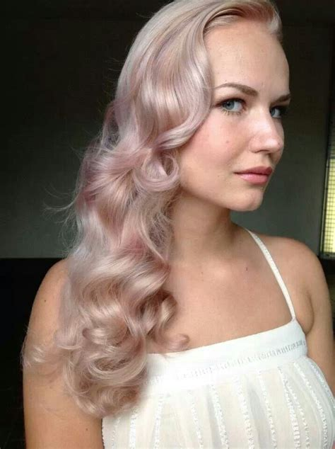 Rose Gold Hair Is Beautiful Hair Pinterest