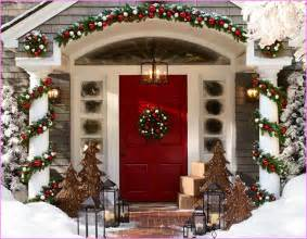 outdoor christmas decorating ideas for best free