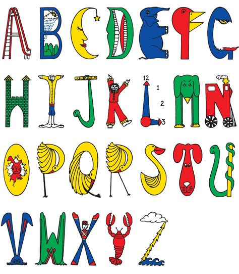 alphabet letters in different styles 5 best images of different types of alphabet letters