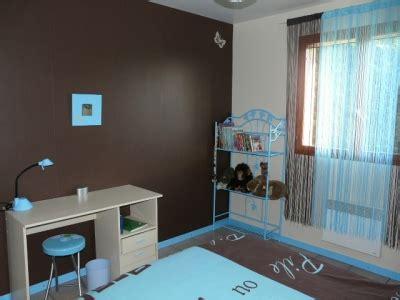 chambre turquoise et marron solutions pour la décoration