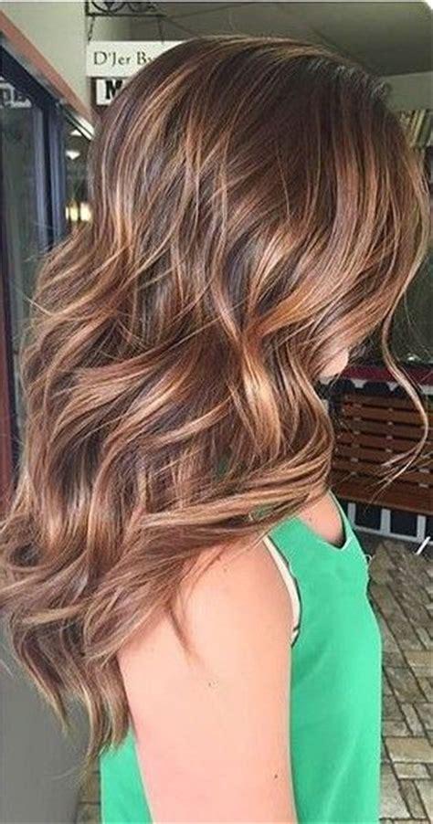 ideas  brunette highlights summer