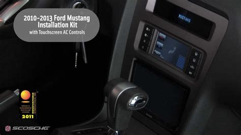 scosche   ford mustang installation kit