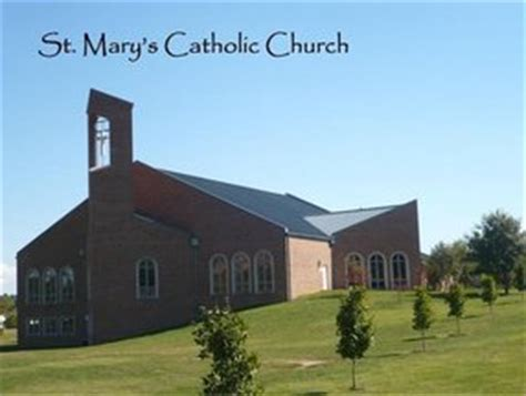 Image result for picture of st. mary catholic church in athens, tn