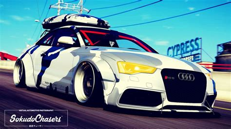 Audi Rs5 Modification by Gta 5 Audi Rs5 Libertywalk Mod Gtainside