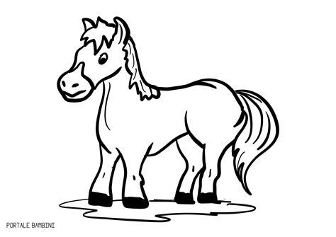 da colorare disegni di cavalli da colorare portale bambini