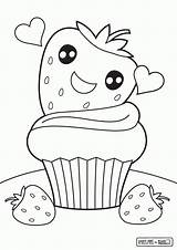 Coloring Pages Cute Colouring Cupcake Printable Sheets Getdrawings Opportunities Nice Cake Comments Preschool Coloringhome Getcolorings Drawing sketch template