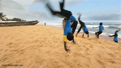 Monrovia Gifs Sand Animated Liberia Beaches Nice