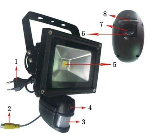porch light hidden camera hd 720p wifi wireless outdoor light pir ip camera