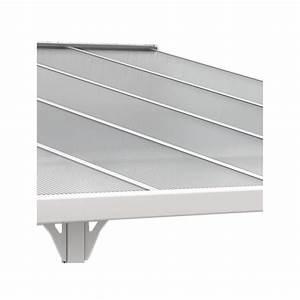 Toit Terrasse Aluminium : toit de terrasse ajustable en aluminium laqu blanc 3 05x3 ~ Edinachiropracticcenter.com Idées de Décoration