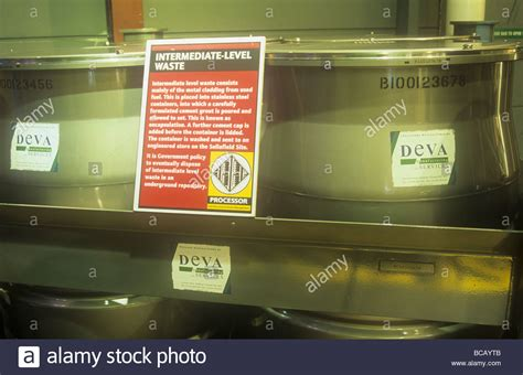Nuclear Waste Sellafield Stock Photos & Nuclear Waste