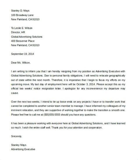 sample resign letter  weeks notice paystub format