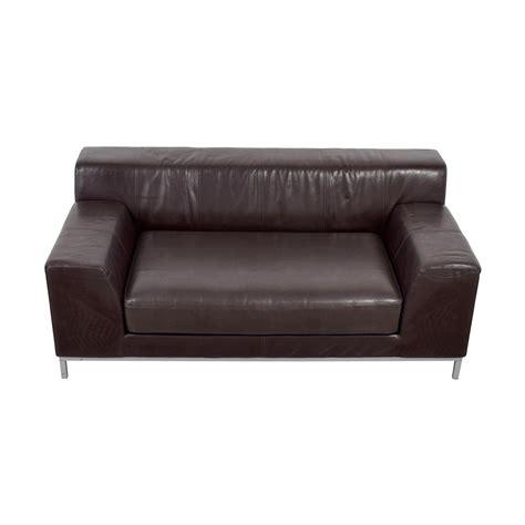 Ikea Kramfors Sofa by 90 Ikea Ikea Kramfors Brown Leather Seat Sofas