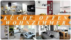 Wohnzimmer Mit Offener Küche : moderne wohnzimmer mit offener k che youtube ~ Watch28wear.com Haus und Dekorationen