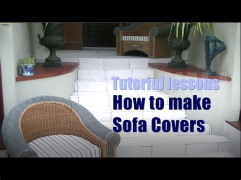 sofa cushion covers youtube