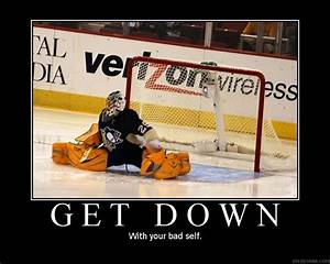 My Defiance My ... Funny Hockey Goalie Quotes
