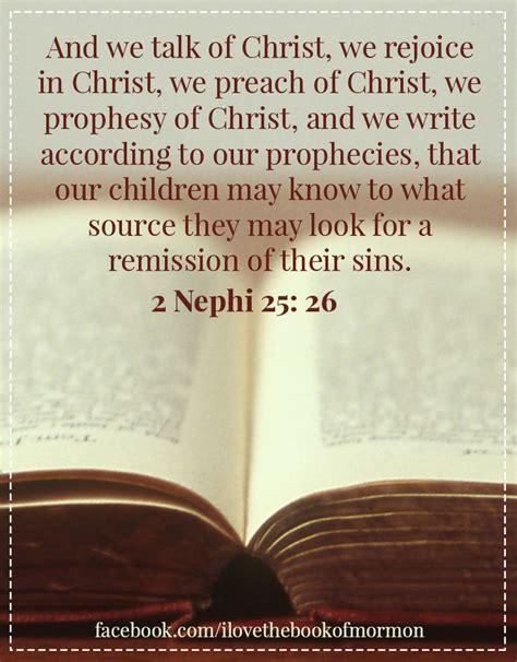 nephi     talk  christ  rejoice  christ