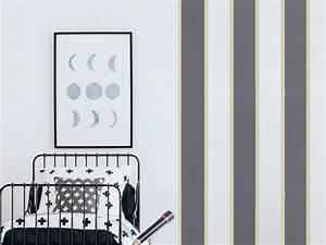 Streifen An Die Wand Malen Beispiele : streifen an die wand malen ideen f r gestreifte w nde ~ Markanthonyermac.com Haus und Dekorationen