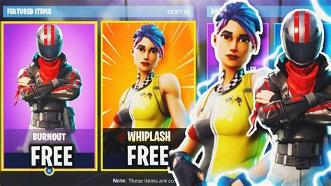whiplash burnout skins  fortnite  skins