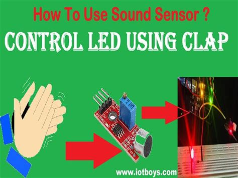 How To Use A Red Cushions In Decorating: Control LED By Clap Using Arduino And Sound Sensor