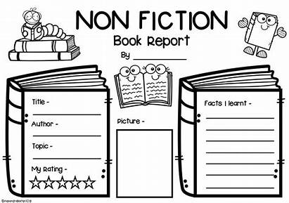 Fiction Non Report Graphic Worksheets Nonfiction Organizers
