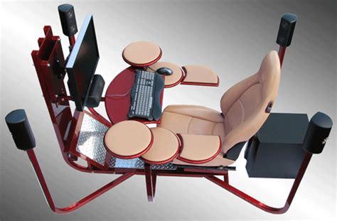 si鑒e informatique ergonomique vision one computer workstation une station de travail informatique vraiment ergonomique semageek