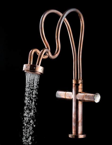 rustic mythological faucets copper faucet design