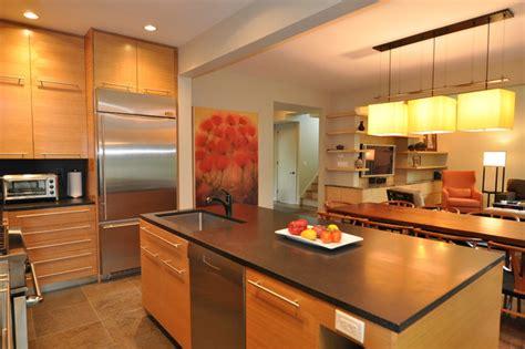 open floor plan kitchen contemporary kitchen
