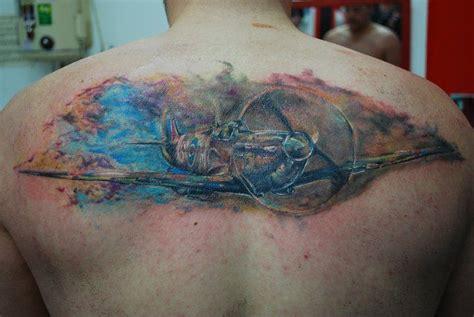 spitfire tattoo plane ww tattoos pinterest
