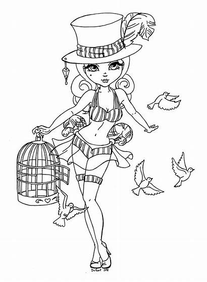 Coloring Assistant Pages Jade Deviantart Adult Magician