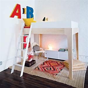 Lit Maison Enfant : les avantages du lit mezzanine dans une chambre d 39 enfant ~ Farleysfitness.com Idées de Décoration