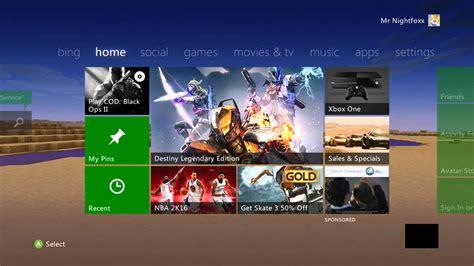 cutomize  xbox  home screen  youtube